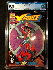 X-Force 2 1991 CGC 🔥 9.8 2nd Appearance Deadpool Hot! Moving Coming!