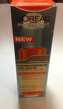 L'Oreal Men's Expert Hydra-Energetic Turbo Recharger Instant Facial Skin Fuel .