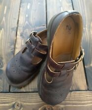 Women's Doc Dr Martens 8065  Shoes Leather Mary Jane England Brown Sz 7