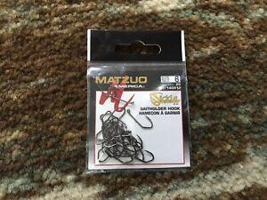 Matzuo baitholder hook size 6 25 per pack