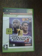 * Original Xbox Classic Spiel * Pro Evolution Soccer 4 * X Box N