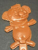 Vtg Brown Figural Trader Vic Menehunes Cocktail Swizzle Stir Stick Pick