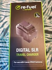 Refuel Travel Digital Camera Battery Charger fits All Canon DSLR 500C A-04