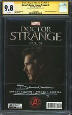 DOCTOR STRANGE PRELUDE #2 (Photo) CGC 9.8 SS / Signed by Benedict Cumberbatch!