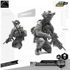 1/35 Brand-new unassembled Resin U.S. Navy Seals Elite Soldier Figure SII-01