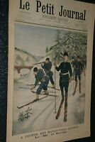 Le petit journal Supplément illustré N°587 / 16-2-1902 / Ski en Norvège