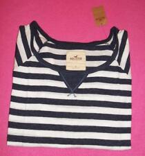 New Hollister women's junior long-sleeved t-shirt size L