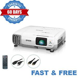 Epson PowerLite 97 3LCD Projector - 2700 Lumens HD 1080i HDMI Acceptable bundle