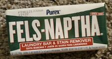 FELS NAPTHA Heavy Duty Laundry Soap 5.0 oz Bar Stain Remover Pre-Treating 04303