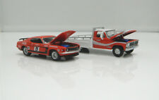 Allan Moffat Ford F-350 Ramp Truck and Trans AM Mustang