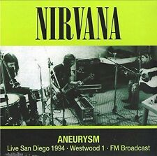 Nirvana - Aneurysm Live in San Diego 1994 NEW SEALED LP FM Broadcast