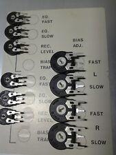 Revox B77 Trim Potentiometers Trimmer-Satz für Revox  Platinen Complete Kit