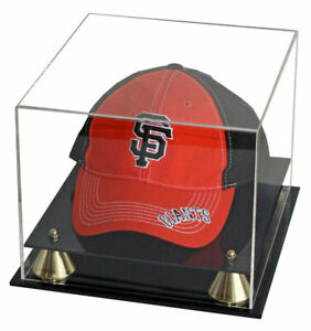 DisplayGifts® Acrylic Baseball Cap / Hat Display Case Stand, UV Protection,B013