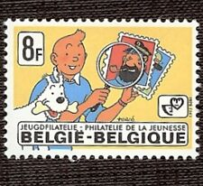 'TINTIN Philatélie Jeunesse' 8F -  BELGIQUE 1979 - Y & T N° 1939 - Neuf Luxe **