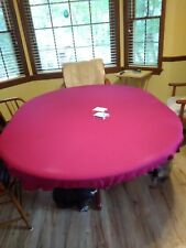 """Felt style poker table cover in Speed CLOTH Lite fits 60"""" table  (pad + bag) fs"""