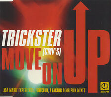 """TRICKSTER (CMV's) """"MOVE ON UP"""" 1998 CD SINGLE. LISA MARIE EXPERIENCE"""