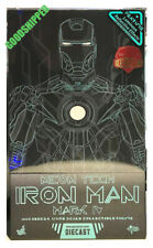 READY AUTHENTIC HOT TOYS IRONMAN 2 MARK IV NEON TECH 1.0 MMS485D24 DIECAST NEW