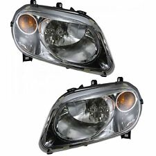 2006 - 2011 CHEVY HHR HEADLIGHT LAMP w/o RPO B2E PAIR LEFT & RIGHT SET