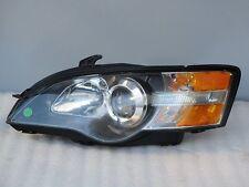 Subaru Legacy Black Headlight Front Lamp 05 06 07 OEM