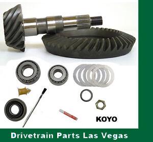 "Chrysler 8.25"" 4.56 Ratio Premium Ring and Pinion Gear Set Pinion Install Kit PK"