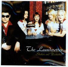 THE LAUNDERETTES Shaken & Disturbed CD NEW GARAGE ROCK PROMO