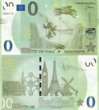 Biljet billet zero 0 Euro Memo - Thale Rosstrappe (018)