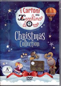 I CARTONI DELLO ZECCHINO D'ORO CHRISTMAS COLLECTION - DVD NUOVO SIGILLATO, RARO!