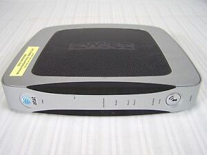 at&t 3600HGV 2 Wire Router Modem Combo