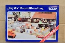 POLA 845 HO SCALE BAY WA BUILDING MATERIALS STORE MODEL RAILWAY LAYOUT KIT nq