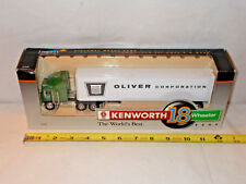 Oliver Corporation Kenworth Semi Bank With Van Trailer By SpecCast 1/64th Scale