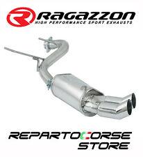RAGAZZON SCARICO TERM.LI TONDI 2x70mm ALFA GTV 916 SPIDER 2.0 16V 114kW 155CV