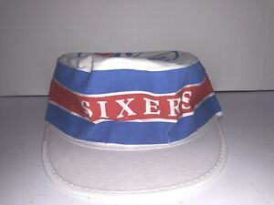Vintage 76ers Sixers Painters Hat Cap NBA Basketball Official - NEW