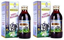 2 X125 ml Hemani Black Seed/Nigella Sativa Oil 100% Natural Pure Oil