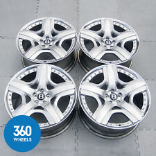 "GENUINE BENTLEY 21"" MULLINER CONTINENTAL GT GTC FLYING SPUR 2 PIECE ALLOY WHEELS"