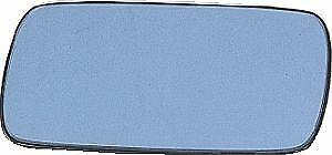 Espejo cristal retrovisor BMW S3 E30 E36 E46  E34  E32 Conductor Plano -Azul