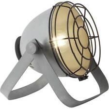 Brilliant LED TAVOLO LAMPADA BO Griglia Grigio industria 6w = 60w e27 INTERRUTTO...