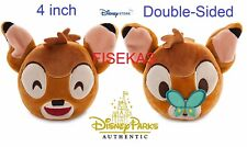 "Disney Store / Parks Plush 4"" Bambi Butterfly Double Sided Emoji Reversible NEW"