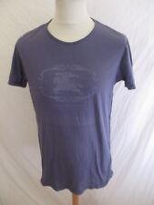 T-shirt Burberry Gris Taille L à - 74%