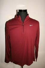 Nike Pacer Dri-Fit 1/2 Zip Running Shirt Long Sleeve Men's Size Large