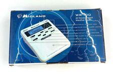 New Midland Weather Radio WR-100 over 60 Emergency Alerts NOAA Civil Emergencies
