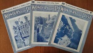 Wonders of the Past. Magazines 37,38,& 39 by Sir JA Hammerton 1934 Paperback