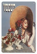 Vogue Summer 1938 Horst P. Horst - 8in x 12in Vintage Metal Sign