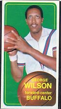 "1970-71  GEORGE WILSON - Topps ""Tall Boy"" ""ROOKIE"" Basketball Card # 11 -Buffalo"