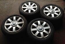 Volkswagen Touran 16 Inch Alloy Wheels With Tyres 5x112 (Golf Mk5 Passat Jetta)