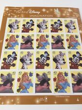 The Art Of Disney Imagination Twenty 42 Cent Stamps 2007