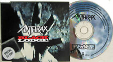 ANTHRAX CD Black Lodge UK DJ PROMO Mint