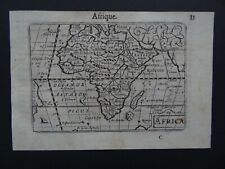 1609 LANGENES  Atlas map  AFRICA - AFRIQUE - Madagascar