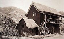 MADAGASCAR - MAISON BETSILEO en 1935 - Cliché numéroté