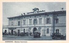 2412) MORBEGNO SONDRIO STAZIONE FERROVIARIA AMIMATA, CAFFE' RISTORANTE AUTO.