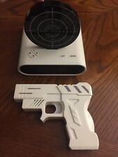 Gun And Target Alarm Clock - Recordable- Original Package - by TG -
